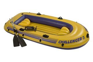 Надувная лодка Intex